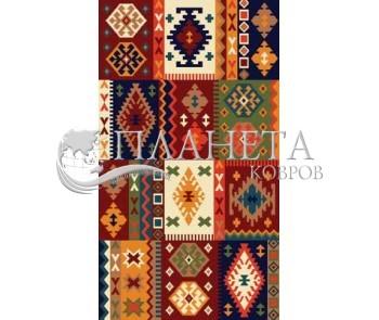 Иранский ковер Gollestan Kokab D.Red - высокое качество по лучшей цене в Украине