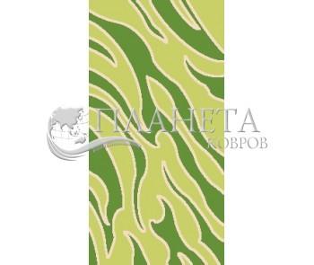 Синтетический ковер Guiza J1015B l.green-l.green - высокое качество по лучшей цене в Украине