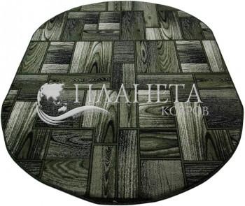 Синтетический ковер Hanze D205A D.GREEN - высокое качество по лучшей цене в Украине