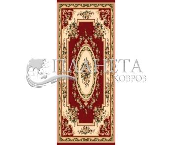 Синтетический ковер Heat-Set 6199A RED - высокое качество по лучшей цене в Украине
