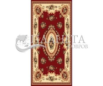 Синтетический ковер Heat-Set 6543A RED - высокое качество по лучшей цене в Украине