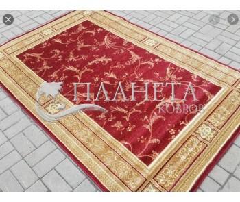 Синтетический ковер Heat-Set 0664A RED - высокое качество по лучшей цене в Украине