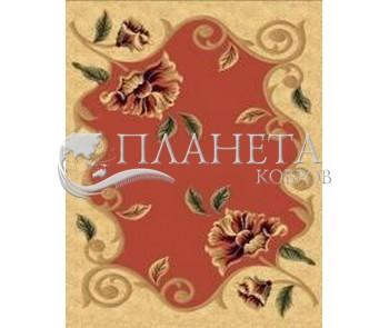 Синтетический ковер Imperial 3930 cream-tile-red - высокое качество по лучшей цене в Украине