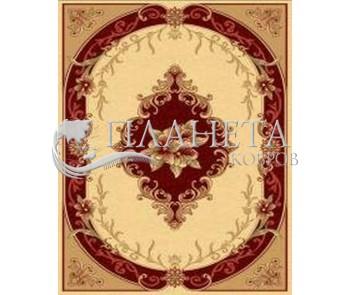 Синтетический ковер Imperial 6776 cream-red - высокое качество по лучшей цене в Украине