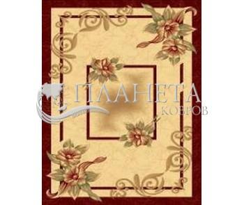 Синтетический ковер Imperial 6777 cream-red - высокое качество по лучшей цене в Украине