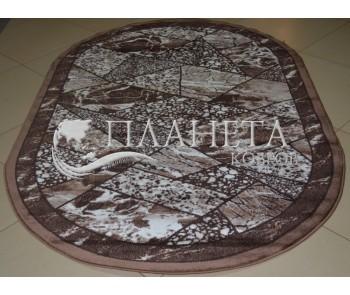 Синтетический ковер Magnoliya Silver мрамор беж - высокое качество по лучшей цене в Украине