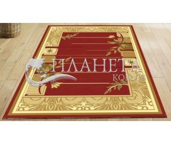 Синтетический ковер Magnoliya 0191 терракот - высокое качество по лучшей цене в Украине