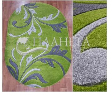Синтетический ковер Melisa 395 green - высокое качество по лучшей цене в Украине
