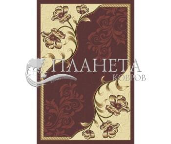 Синтетический ковер  Virizka 8913B BORDO - высокое качество по лучшей цене в Украине