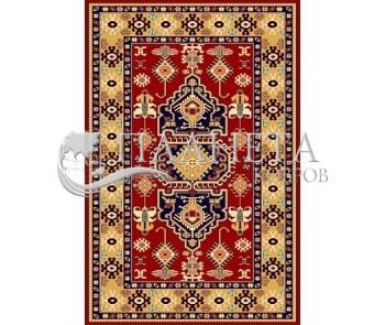 Иранский ковер Pazirik Touba D.Red - высокое качество по лучшей цене в Украине