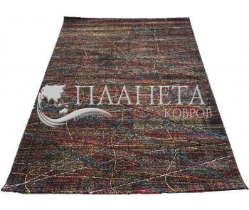 Синтетический ковер Rainbow 14 Colors 4110a Black - высокое качество по лучшей цене в Украине