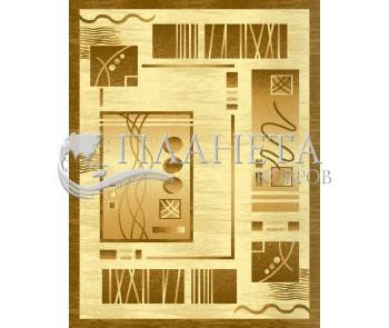 Синтетический ковер Selena 3080 , BROWN CREAM - высокое качество по лучшей цене в Украине
