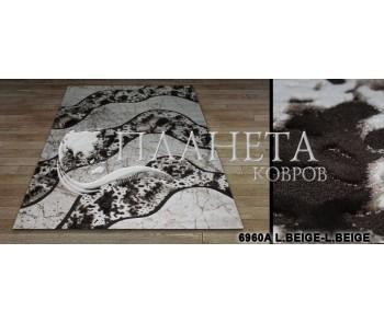Синтетический ковер Sila 6960A l.beige-l.beige - высокое качество по лучшей цене в Украине