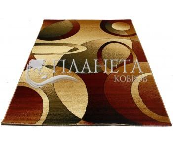 Синтетический ковер Super Elmas 4723A ivory-d.red - высокое качество по лучшей цене в Украине