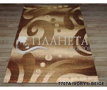 Синтетический ковер Super Elmas 7707A ivory-l.beige - высокое качество по лучшей цене в Украине