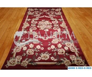 Синтетический ковер Super Elmas 4609B d.red-d.red - высокое качество по лучшей цене в Украине