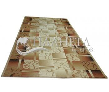 Синтетический ковер Super Elmas 5131C ivory-brown - высокое качество по лучшей цене в Украине