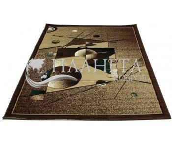 Синтетический ковер Tabriz 2507C berber-d.brown - высокое качество по лучшей цене в Украине