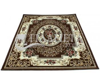 Синтетический ковер Tabriz 3526C d.brown-ivory - высокое качество по лучшей цене в Украине