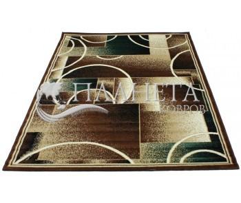 Синтетический ковер Tabriz 3581E d.brown-berber - высокое качество по лучшей цене в Украине