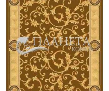 Синтетический ковер Tabriz 3817A brown - высокое качество по лучшей цене в Украине