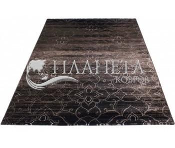 Синтетический ковер Vogue 9854A BLACK-P.L.BEIGE - высокое качество по лучшей цене в Украине