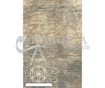Шерстяной ковер Folk Gunia Szary - высокое качество по лучшей цене в Украине