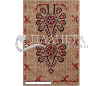 Шерстяной ковер Folk Parzenica 1 Len - высокое качество по лучшей цене в Украине
