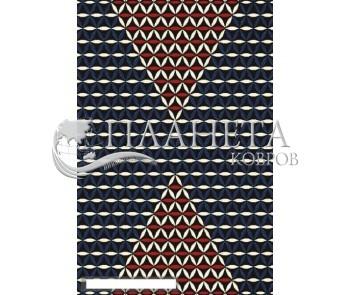 Шерстяной ковер Folk Regiel Czarny - высокое качество по лучшей цене в Украине