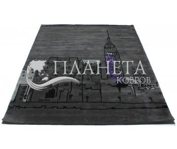 Шерстяной ковер Hand Tufted CITYSCAPE RUG deep grey - высокое качество по лучшей цене в Украине