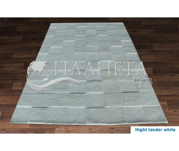 Шерстяной ковер HIGHT LANDER white - высокое качество по лучшей цене в Украине