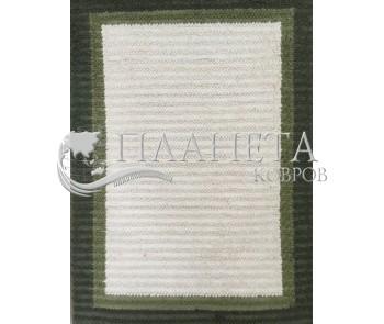 Шерстяной ковер India 1 , GREEN - высокое качество по лучшей цене в Украине