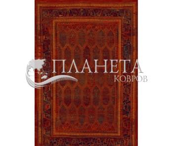 Шерстяной ковер Polonia Sarand Red - высокое качество по лучшей цене в Украине