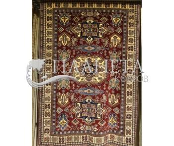 Шерстяной ковер Shirvan 4 , RED - высокое качество по лучшей цене в Украине
