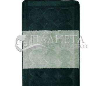 Коврик для ванной Edremit BQ 2536 Hunter Green - высокое качество по лучшей цене в Украине