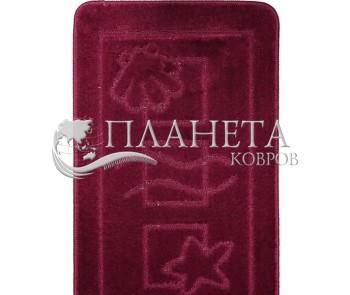Коврик для ванной Maritime 2576 Aubergine - высокое качество по лучшей цене в Украине