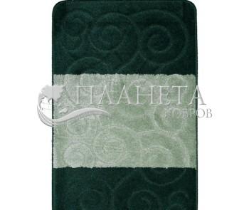 Коврик для ванной Sile BQ 2536 Hunter Green - высокое качество по лучшей цене в Украине