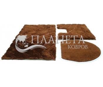 Коврик для ванной Karya chestnut - высокое качество по лучшей цене в Украине