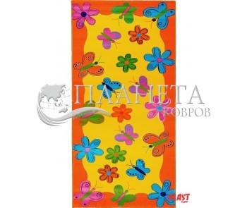 Детский ковер Baby 2057 Sari-Turuncu - высокое качество по лучшей цене в Украине