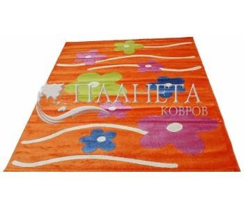 Детский ковер Daisy Fulya 8947a orange - высокое качество по лучшей цене в Украине