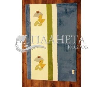 Детский ковер Egeberk EG 19 , BLUE WHITE - высокое качество по лучшей цене в Украине