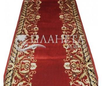 Кремлевская ковровая дорожка Selena / Lotos 028-217 red - высокое качество по лучшей цене в Украине