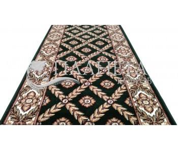 Кремлевская ковровая дорожка Silver / Gold Rada 330-32 green Рулон - высокое качество по лучшей цене в Украине
