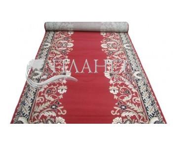 Кремлевская ковровая дорожка Silver / Gold Rada 028-22 red Рулон - высокое качество по лучшей цене в Украине