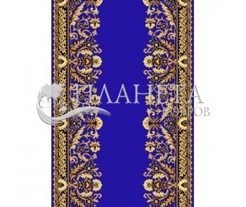 Кремлевская ковровая дорожка Silver / Gold Rada 028-45 blue Рулон - высокое качество по лучшей цене в Украине