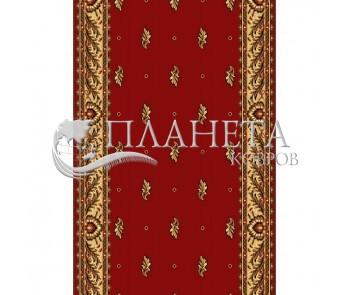 Кремлевская ковровая дорожка Silver / Gold Rada 049-22 red Рулон - высокое качество по лучшей цене в Украине