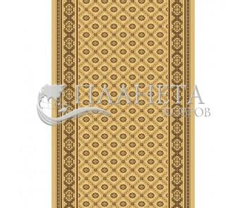 Кремлевская ковровая дорожка Silver / Gold Rada 330-12 beige - высокое качество по лучшей цене в Украине