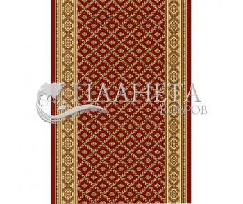 Кремлевская ковровая дорожка Silver / Gold Rada 330-22 red - высокое качество по лучшей цене в Украине