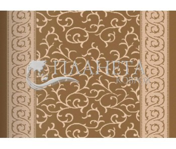 Безворсовая ковровая дорожка Sisal 14 , BROWN - высокое качество по лучшей цене в Украине