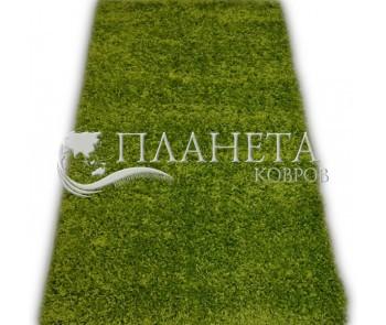 Высоковорсная ковровая дорожка First Shaggy 1000 , GREEN - высокое качество по лучшей цене в Украине